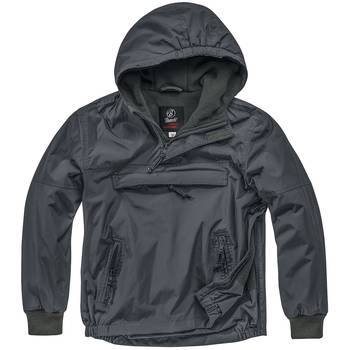 Kinder Windbreaker anthrazit, L