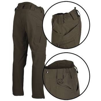 Softshell Hose Assault ranger green, XL