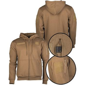 Tactical Kapuzenjacke coyote, L