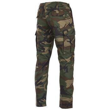 US BDU Feldhose Slim Fit woodland, XL