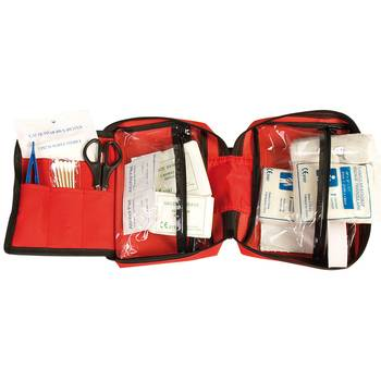 First Aid Kit large, rot