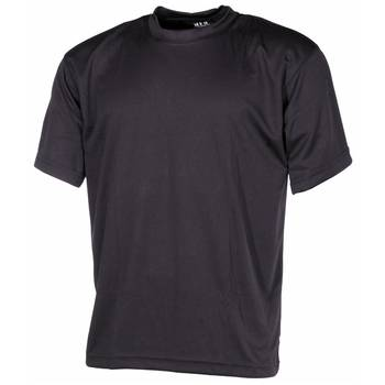 Tactical T-Shirt Quickdry schwarz, XXL