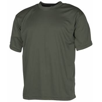 Tactical T-Shirt Quickdry oliv, M