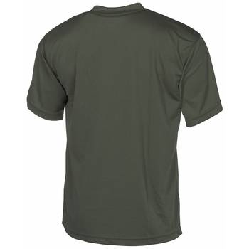 Tactical T-Shirt Quickdry oliv, XXL