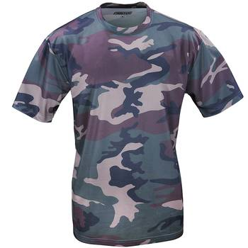 Tactical T-Shirt Quickdry woodland