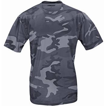 Tactical T-Shirt Quickdry darkcamo, M
