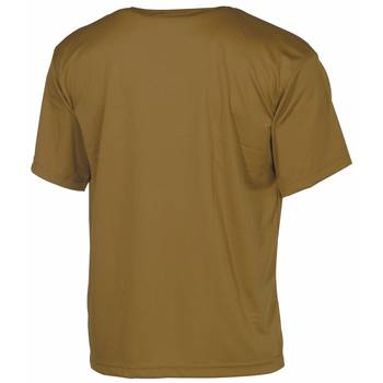 Tactical T-Shirt Quickdry coyote 3XL