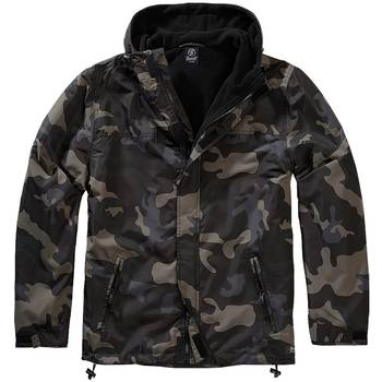 Brandit Windbreaker Frontzip darkcamo, 3XL