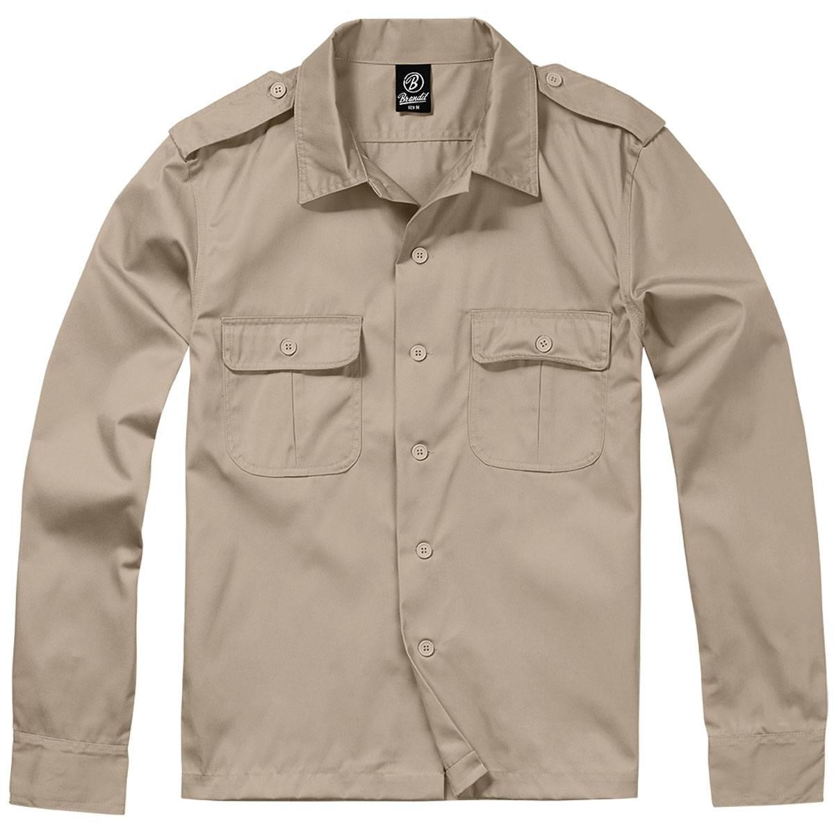 buy online 1f400 67c28 Langarm US-Hemd, Tropenhemden im günstigen Army Shop ...