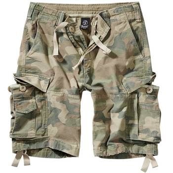 Brandit Vintage Shorts light woodland, S