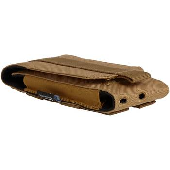 Molle Handytasche Phone Pouch large camel