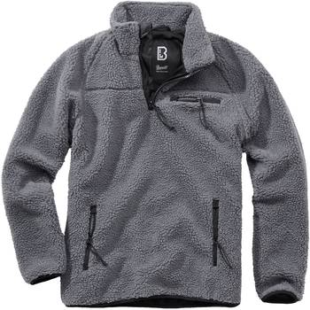 Teddyfleece Troyer anthrazit, 3XL