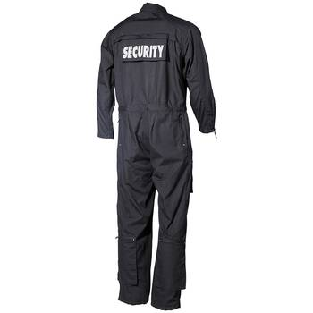 Overall SECURITY, schwarz