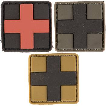 Patch 3D First Aid small versch. Farben