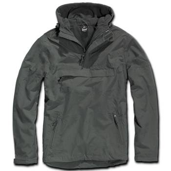 Hooded Windbreaker anthrazit