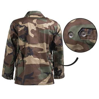 US BDU Jacke Kids woodland