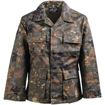 US BDU Jacke Kids flecktarn